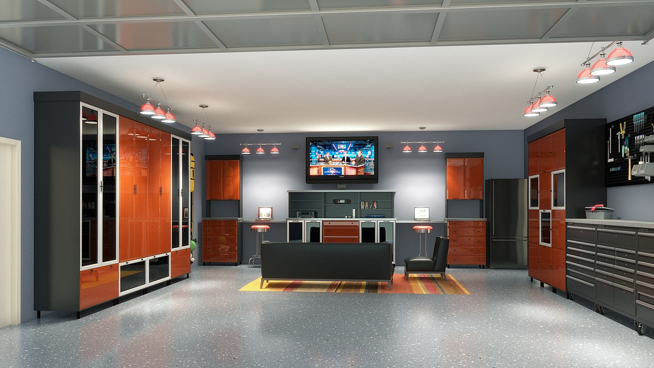 How To Turn Your Garage Into A Man Cave Clarity